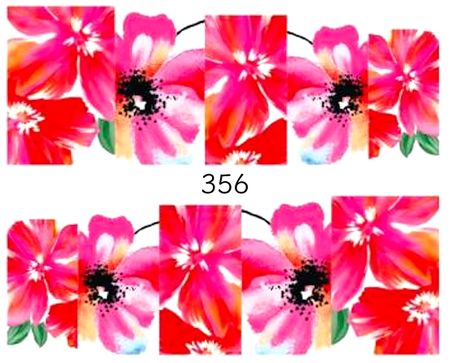 Naklejki wodne na paznokcie - 356 (1)
