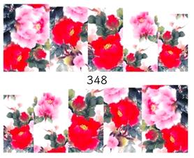 Naklejki wodne na paznokcie - 348