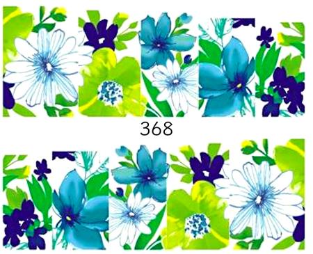 Naklejki wodne na paznokcie - 368 (1)
