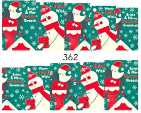 Naklejki wodne na paznokcie - 362