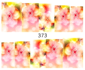 Naklejki wodne na paznokcie - 373