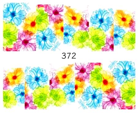 Naklejki wodne na paznokcie - 372 (1)