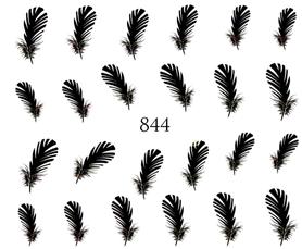 Naklejki wodne na paznokcie - 844