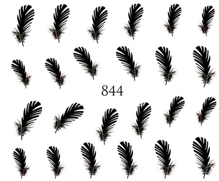 Naklejki wodne na paznokcie - 844 (1)