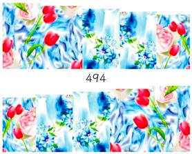Naklejki wodne na paznokcie - 494
