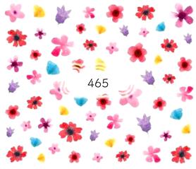 Naklejki wodne na paznokcie - 465