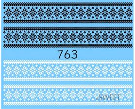 Naklejki wodne na paznokcie - 763