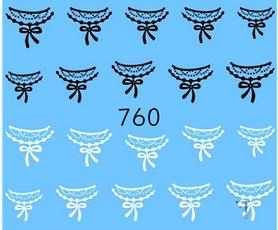 Naklejki wodne na paznokcie - 760