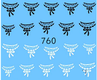 Naklejki wodne na paznokcie - 760 (1)