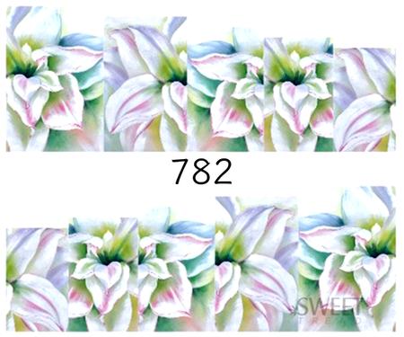 Naklejki wodne na paznokcie - 782 (1)