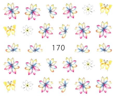 Naklejki wodne na paznokcie - 170 (1)