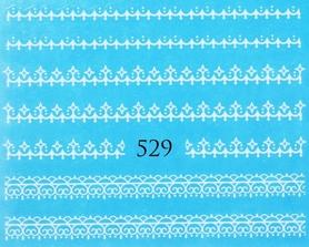 Naklejki wodne na paznokcie - 529