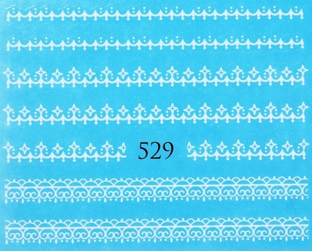 Naklejki wodne na paznokcie - 529 (1)