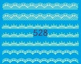 Naklejki wodne na paznokcie - 528