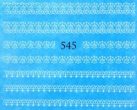 Naklejki wodne na paznokcie - 545