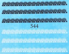 Naklejki wodne na paznokcie - 544