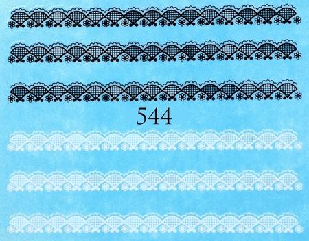 Naklejki wodne na paznokcie - 544 (1)