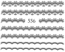 Naklejki wodne na paznokcie - 556