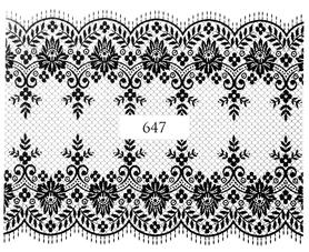 Naklejki wodne na paznokcie - 647