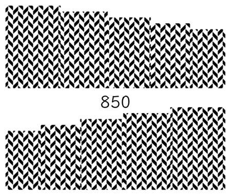 Naklejki wodne na paznokcie - 850 (1)
