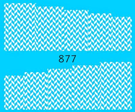Naklejki wodne na paznokcie - 877 (1)
