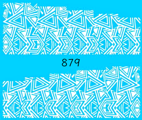 Naklejki wodne na paznokcie - 879