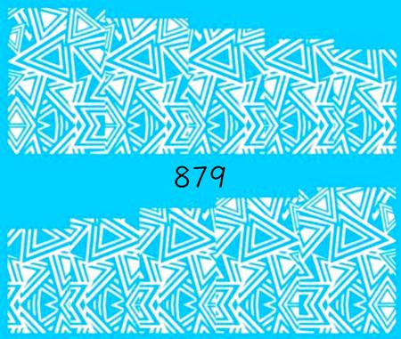 Naklejki wodne na paznokcie - 879 (1)