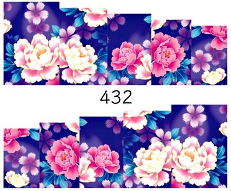 Naklejki wodne na paznokcie - 432 (1)