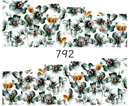 Naklejki wodne na paznokcie - 792 (1)