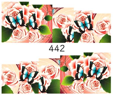 Naklejki wodne na paznokcie - 442 (1)