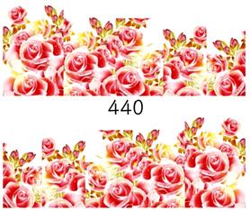 Naklejki wodne na paznokcie - 440