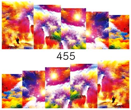 Naklejki wodne na paznokcie - 455 (1)