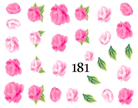 Naklejki wodne na paznokcie - 181 (1)