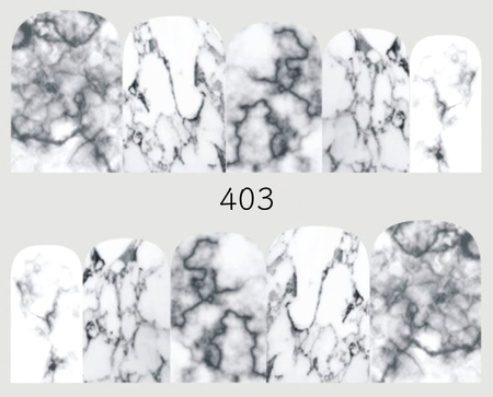 Naklejki wodne na paznokcie - 403 (1)