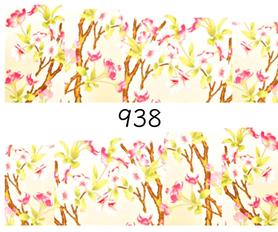 Naklejki wodne na paznokcie - 938