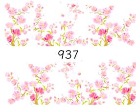 Naklejki wodne na paznokcie - 937