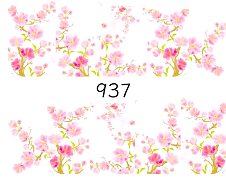 Naklejki wodne na paznokcie - 937 (1)