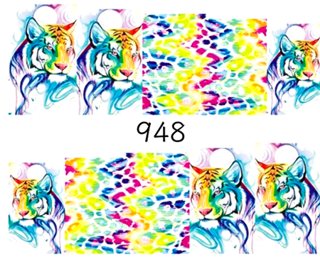 Naklejki wodne na paznokcie - 948 (1)