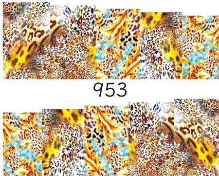Naklejki wodne na paznokcie - 953 (1)