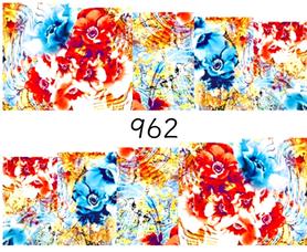 Naklejki wodne na paznokcie - 962