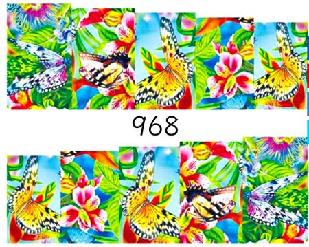 Naklejki wodne na paznokcie - 968 (1)